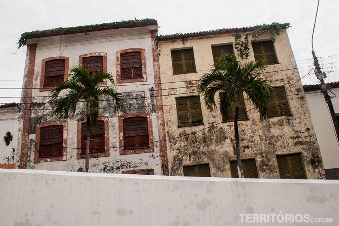 Degradação no centro histórico de São Luis do Maranhão