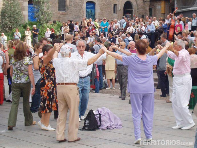 Sardana, tradicional dança catalã