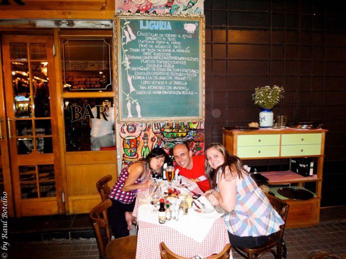 Aproveitando os bares durante o feriado no Chile
