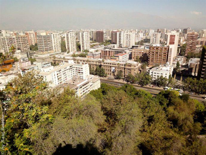 Vista do Cerro de Santa Lucía