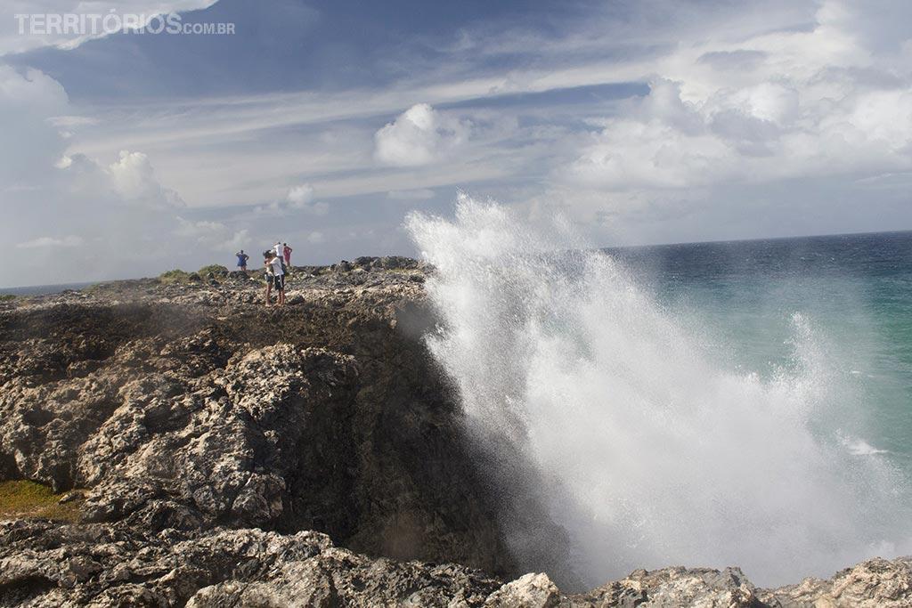 O ponto mais extremo norte do país, North Point - Barbados