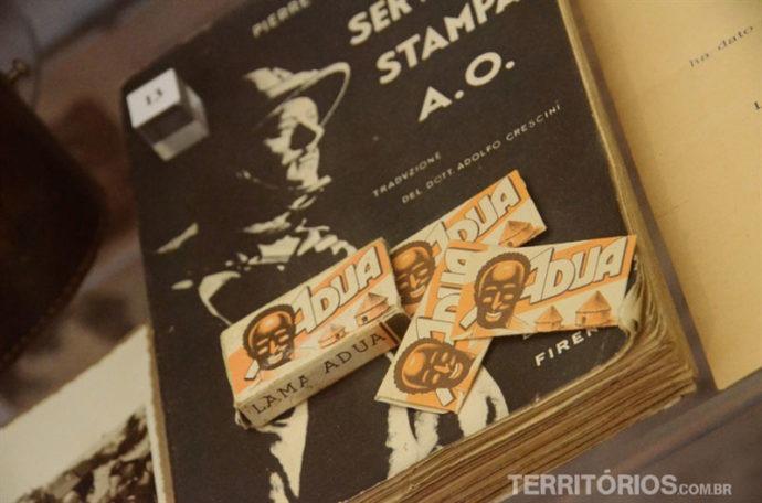 Impressos contam a história do Brasil em museu na Itália