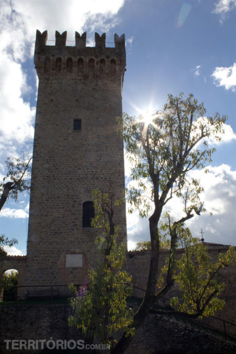 O museu fica na Rocca de Montese