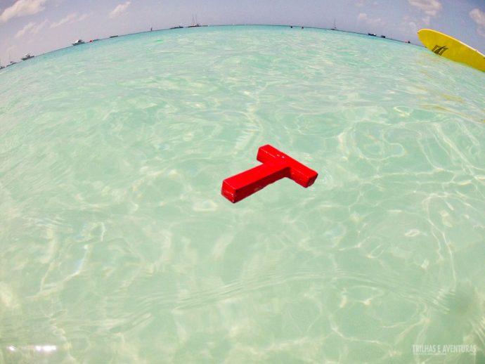 Boiando em Carlise Bay