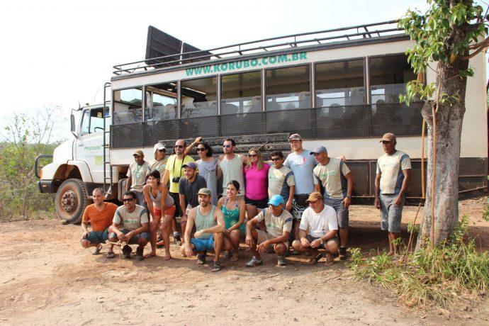 Os Adventure Bloggers e o time da Korubo