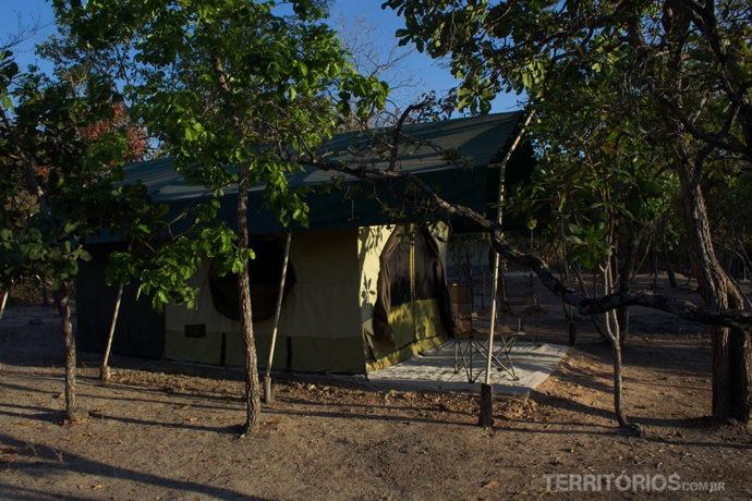 Barraca para 2 pessoas na hospedagem no Jalapão