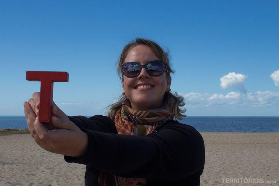 Equipe de viajantes: Lúcia Maciel