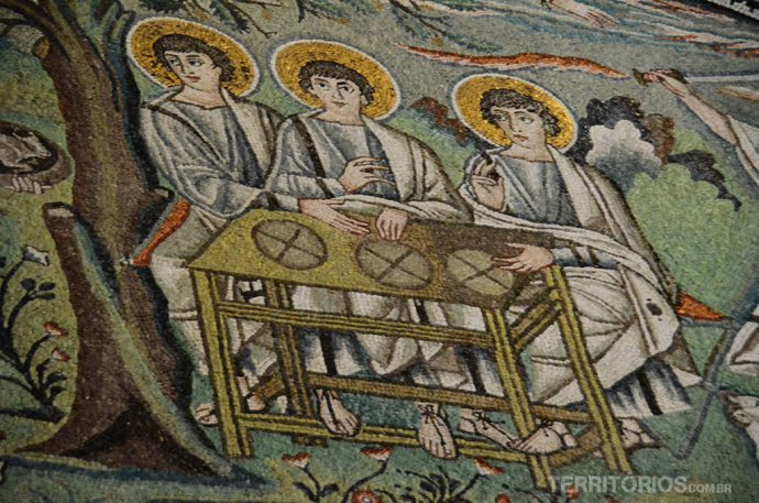 Detalhe na Basilica di San Vitale