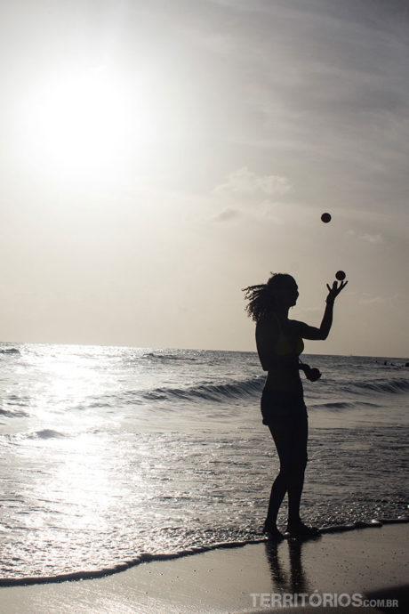 Accra Beach foi cenário das melhores fotos de Barbados