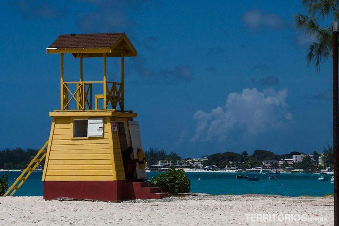 Miami Beach tem as  fotos de Barbados mais clichês