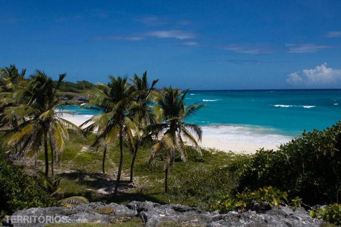 Long Beach nas fotos de Barbados