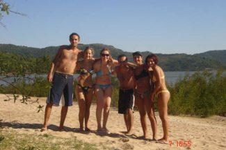 Praia das Pombas em 2005