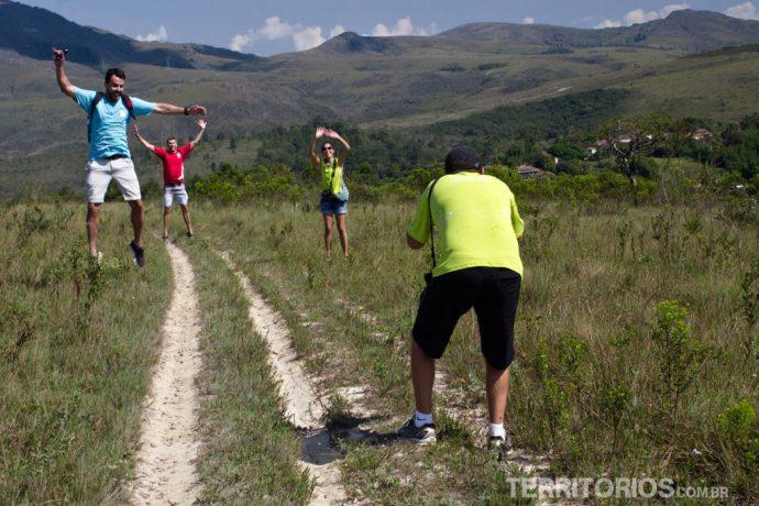 Blogueiros na trilha