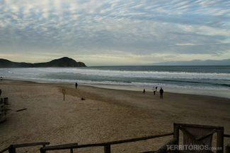 Praia do Rosa canto sul