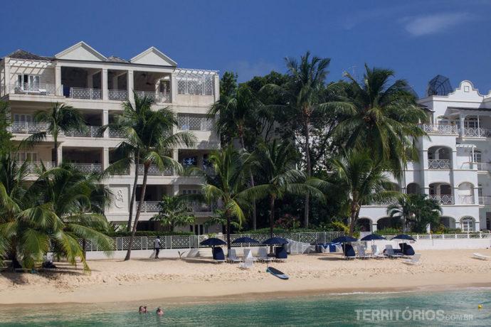 Resorts pé na areia na costa oeste