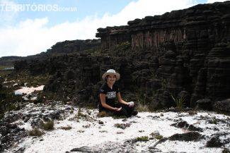 Eu no Vale dos Cristais, no lado Brasileiro. mitos e verdades