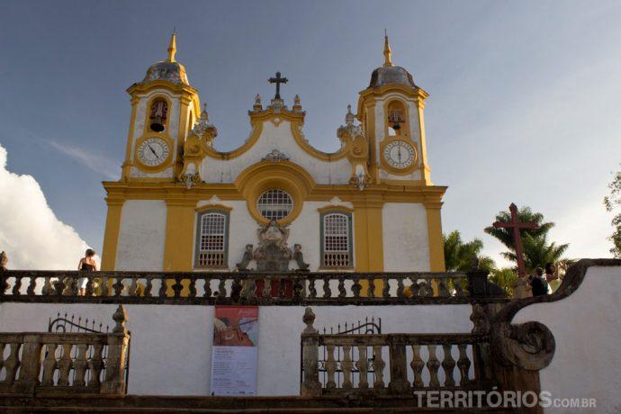 Igreja Matriz de Santo Antônio, em Tiradentes