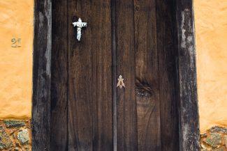 Porta em Bichinho, Minas Gerais - Brasil