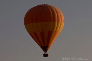 Voar de balão era um sonho