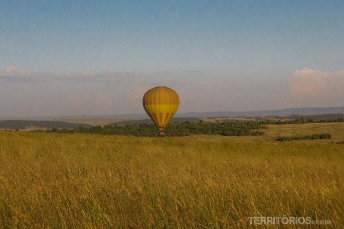 Coisas para fazer antes de morrer:  safari no balão em Maasai Mara