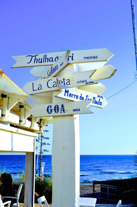 Detalhe do La Caleta