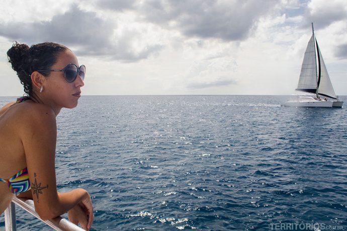 Cris Marques modelo das fotos de Barbados
