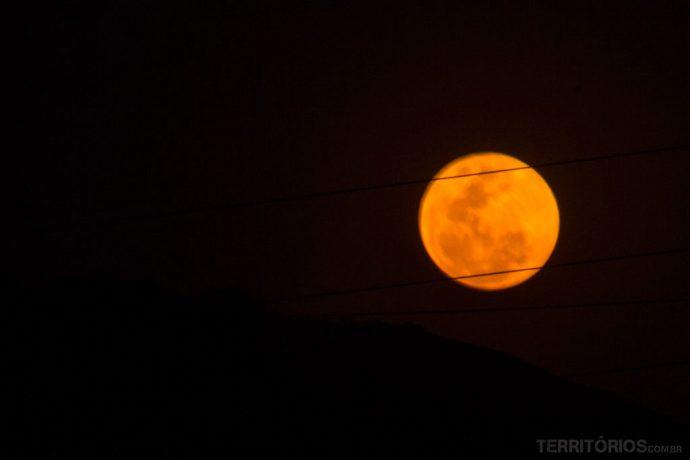 lua vermelha na suazilândia