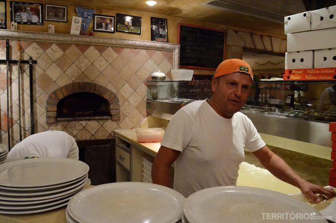 Pizzaiolo na Pago Pago