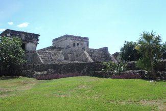 El Castillo, no Sítio Arqueológico de Tulum