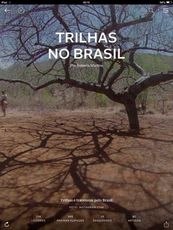 Trilhas no Brasil no Flipboard