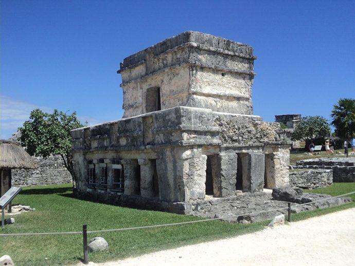 Templo de los frescos no Sítio Arqueológico de Tulum