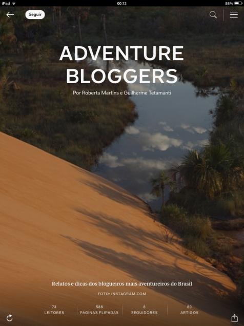 Posts de todos os blogs que participaram da edição Jalapão