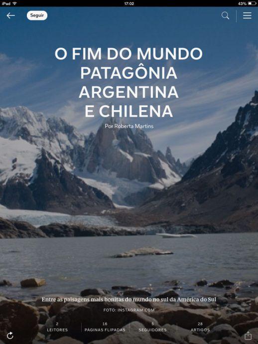 Como foi a viagem completa para Patagonia