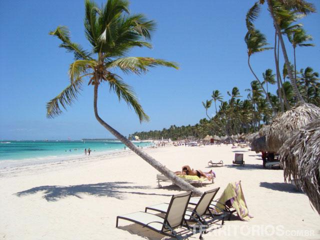Punta Cana, na República Dominicana, é uma das praias onde fica o Caribe