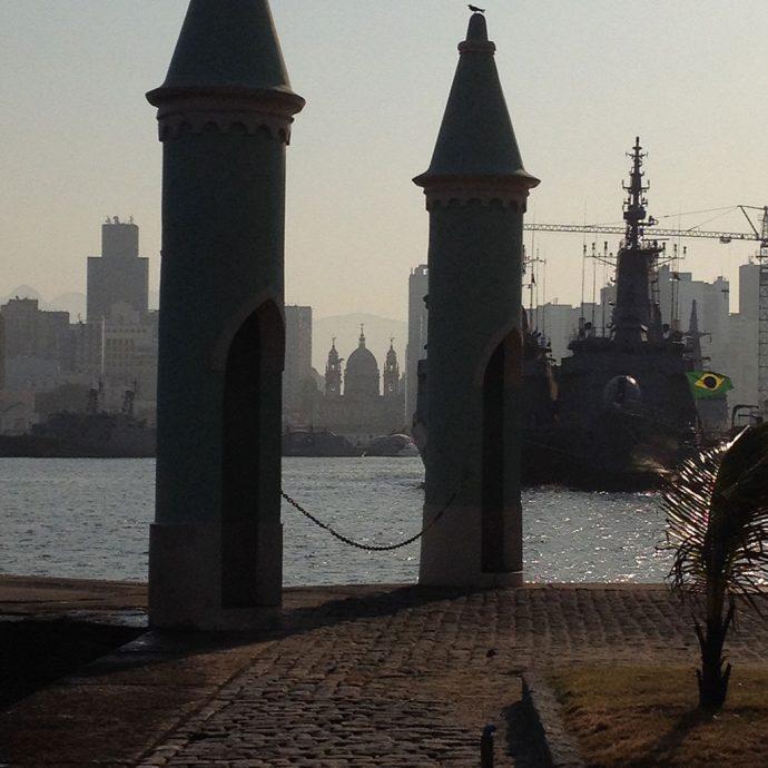 Vista para o centro do Rio