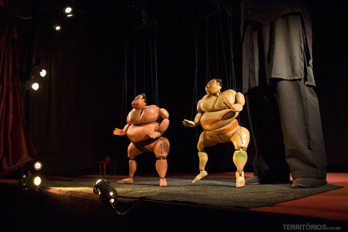 Cia Navegantes de Teatro de Marionetes em Mariana, Minas Gerais - Brasil
