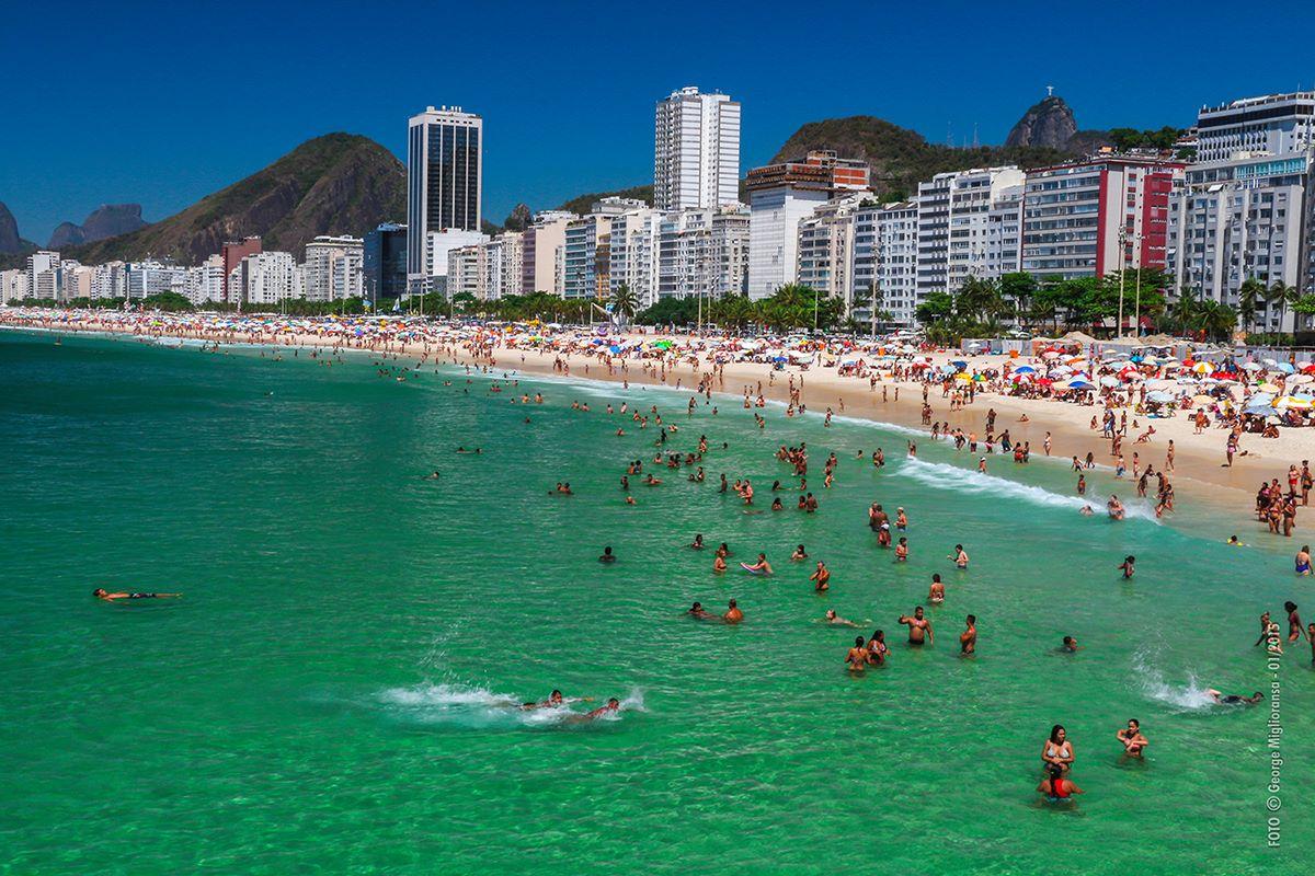 Ponta da Praia do Leme, Rio de Janeiro, RJ - Brasil