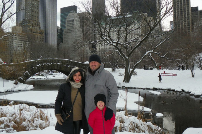 Nós no Central Park branquinho