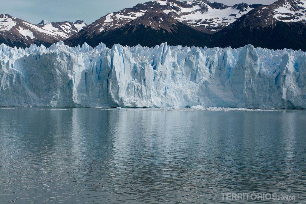 Perito Moreno visto do barco