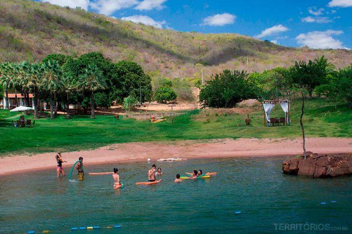 Praia no Cangaço Eco Park