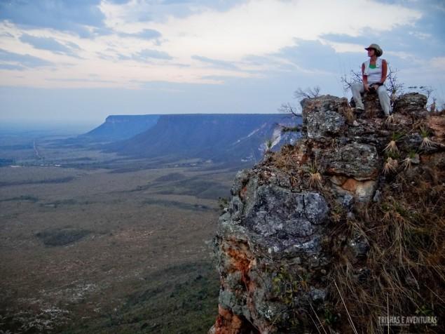 No topo da Serra do Espírito Santo, a trilha mais difícil do Jalapão