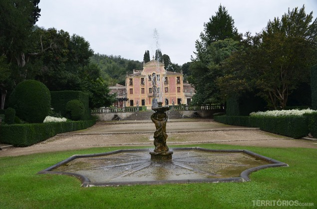 Valsanzibio, um labirinto na Itália