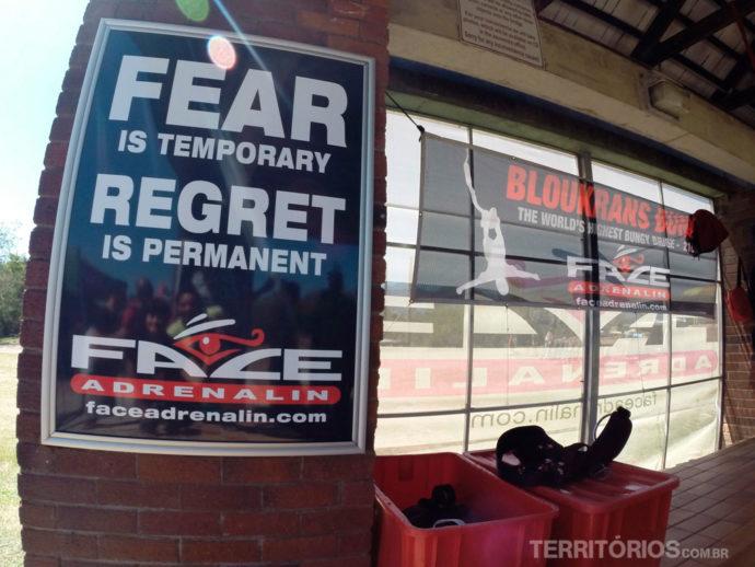 """""""Medo é temporário, arrependimento é permanente"""""""