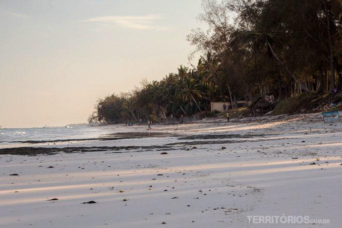 Final de tarde em Diani Beach