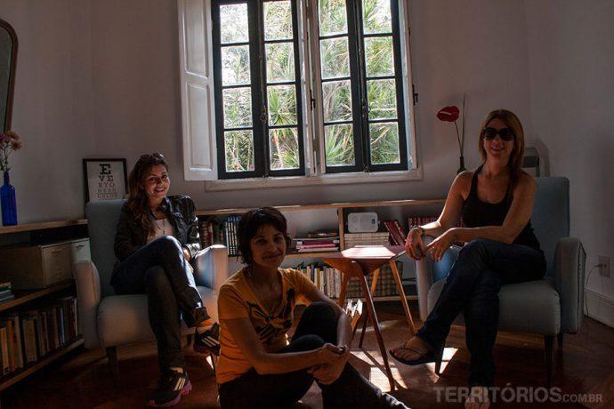 Estreando o projeto hospedadas no We Hostel Design