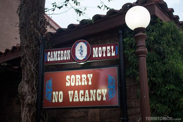 Hotel no Grand Canyon lotado em maio