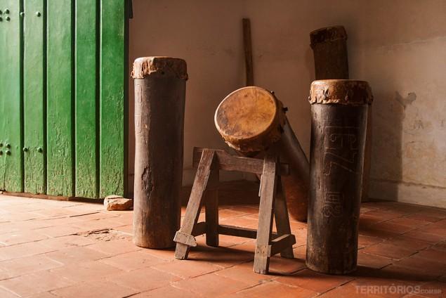 Tambor de Crioula dentro da igreja