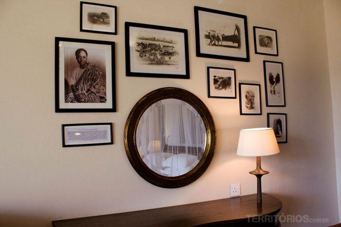 Decoração do Hemingway's Nairóbi é inspirada em safari