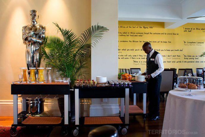 Restaurante do Hemingway's Nairóbi