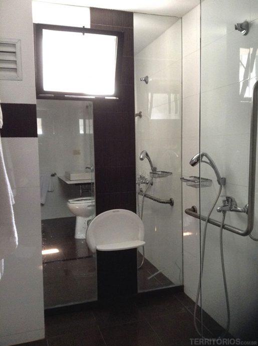 Banheiro acessível